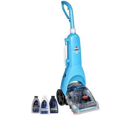 Bissell Quicksteamer Pro Deep Clean Carpet Cleaner W 3