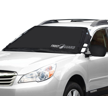 FrostGuard Windshield and Wiper Cover w/ Mirror Covers