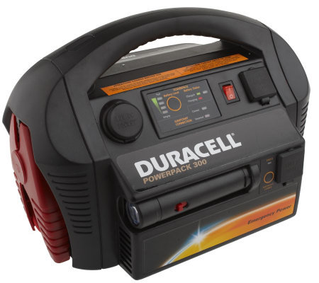 Duracell Portable 300W Powerpack w/Jumpstarter & Air Compressor