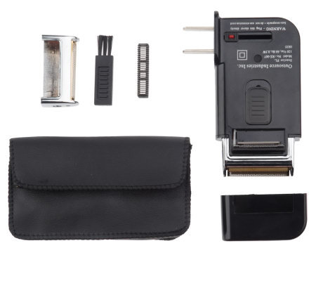 Shave Whiz Rechargeable Micro Foil Shaver with Trimmer