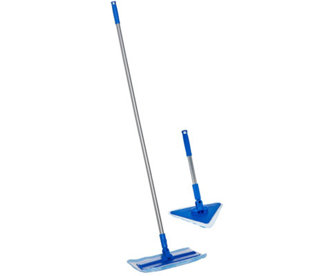 Don Aslett's Deluxe Microfiber Mop & Hard Surface Floor Kit