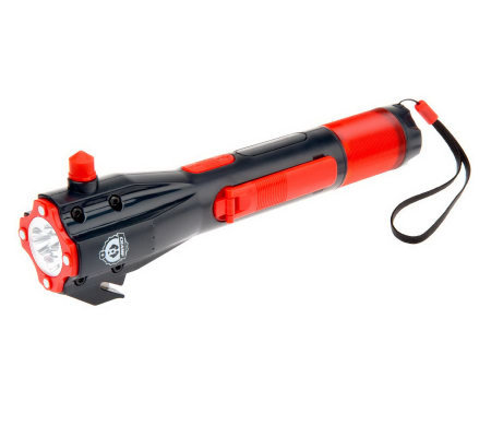 Champ E-Prep 8:1 On-the-Go Emergency Tool w/ Flashlight & USB Charger