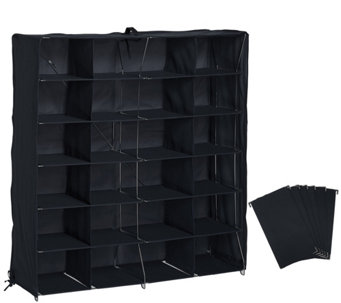 Pop-It Collapsible 24 Qube Organizer with Dividers - V34389