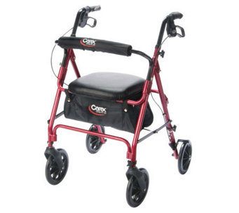Carex Roller Walker - Burgundy - V118090