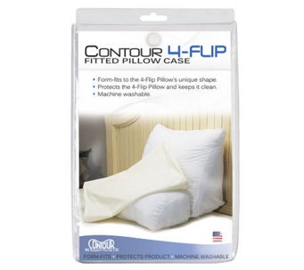Contour 4-Way Flip Back Support Pillow Fitted Cover - V119490