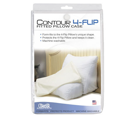 Contour 4-Way Flip Back Support Pillow Fitted Cover