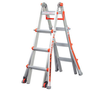 Little Giant 18-in-1 15' Ladder w/Wheel Kit & Work Platform - V31290
