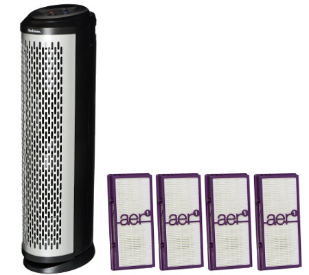 Holmes Air Purifier Tower with aer1 Allergen Filters