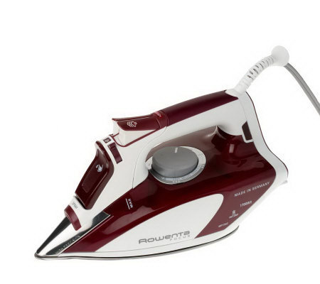 rowenta focus 1700w steam iron with 400 microsteamholes page 1. Black Bedroom Furniture Sets. Home Design Ideas