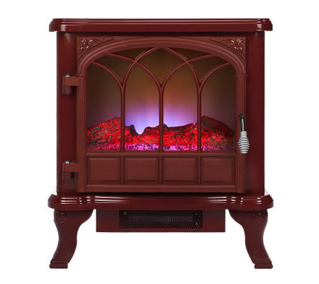 Duraflame 750W/1500W Electric Stove Heater with LED Flame Effect