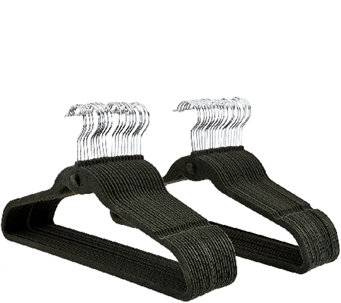 ClutterFree Set of 40 Space Saving Cascading Hangers - V33193