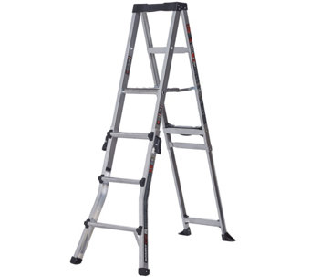 Little Giant SmartStep Multi-Purpose 6-in-1 Stepladder - V34093