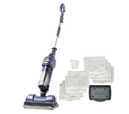 Shark Vac Then Steam Hardfloorsystem With 8 Pads And