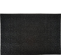 Aqua Hog 2' x 3' Indoor/Outdoor Door Mat with Rubber Backing - V34894