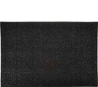 Aqua Hog 2u0027 X 3u0027 Indoor/Outdoor Door Mat With Rubber Backing