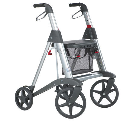 Active Design Rollator with Seat and Large Wheels