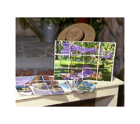 Decorative Removable & Reusable Tile Mural Set