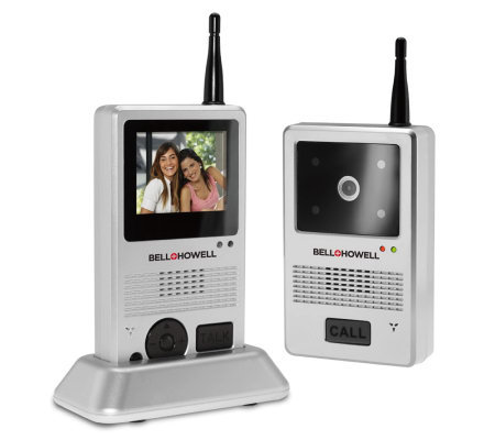 Bell & Howell Digital Video Doorbell Intercom System for Home
