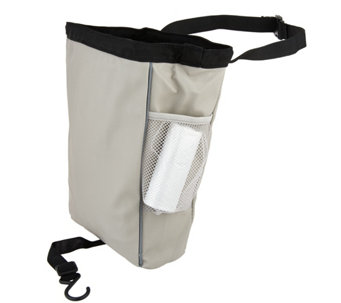 CarBage Automotive Leatherette Garbage Bag w/ Straps - V34096
