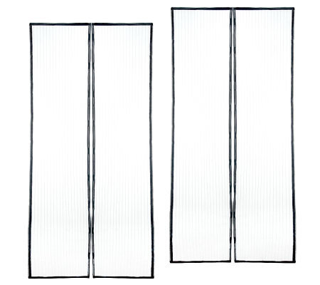 Hang A Screen Set Of 2 Magnetic Screen Door Covers