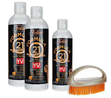 Fuller Brush Formula 21 Odor Eliminator 4 Piece Total Home Kit