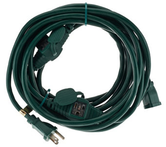 Snow Joe Indoor/Outdoor 25' Extension Cord with 5 Outlets - V33799