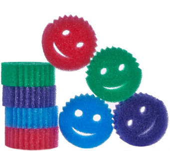 Scrub Daddy Set of 8 Scratch Free Cleaning Sponges - V34099