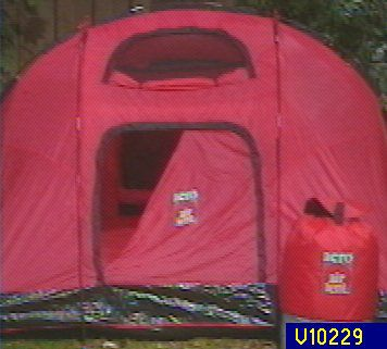 Aero  Portable Inflatable 4 Person Tent u2014 QVC.com & Aero