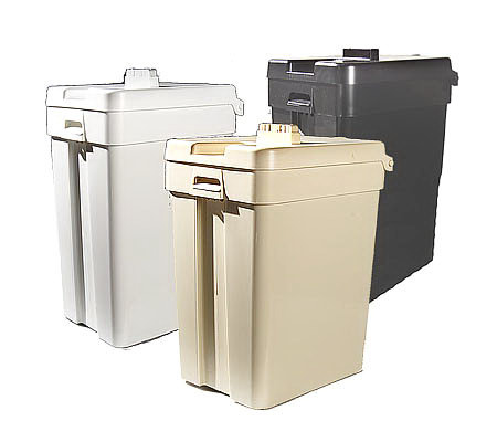 Home Trash Compactor the crusher hand operated home trash compactor — qvc