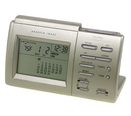The Sharper Image Alarm Clock Unique Alarm Clock