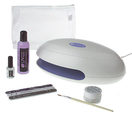 Rio UV Natural Nail Hardener Kit — QVC.com