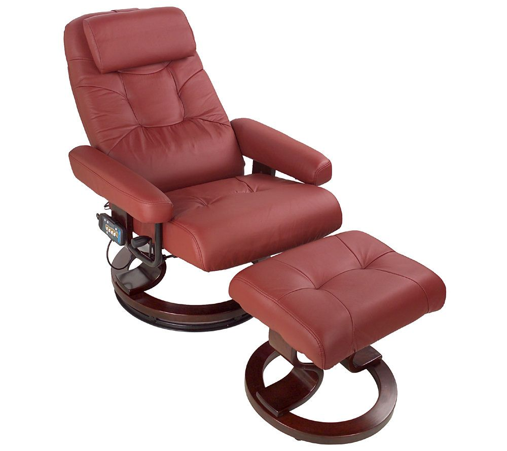sc 1 st  QVC.com & 8 Motor Heated Reclining Massage Chair and Footrest u2014 QVC.com islam-shia.org