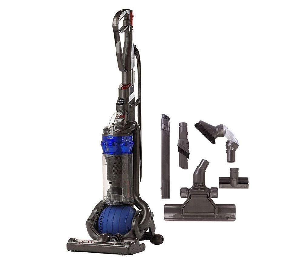 dyson dc25 ball blue upright vacuum with accessories page 1 u2014 qvccom