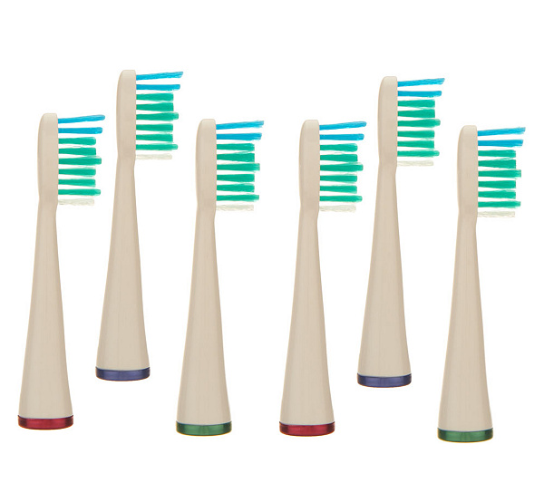 Set of Six Replacement Heads for WaterPik Toothbrushes - Page 1 ...
