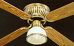 Encon industries corinthian 42 4 bld ceilingfan brass qvc share this product mozeypictures Image collections