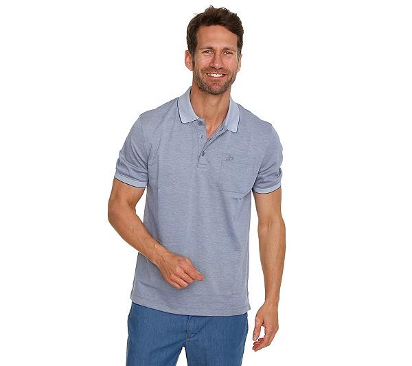 JOHN BRADLEY Poloshirt, 1 2-Arm glatt ohne zu bügeln Brusttasche ... 8f7cad5450
