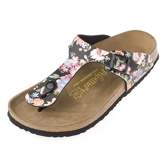 3912193c63c5 Papillio by Birkenstock Gizeh Saturday Night Floral Sandal. product  thumbnail. In Stock