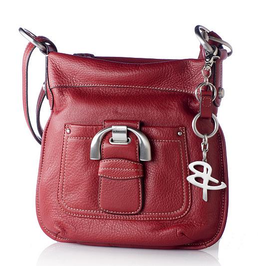 B Makowsky Pebble Leather Convertible Crossbody Bag Product Thumbnail In Stock