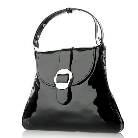 Lulu Guinness Extra Large Maddy Patent Leather Bag