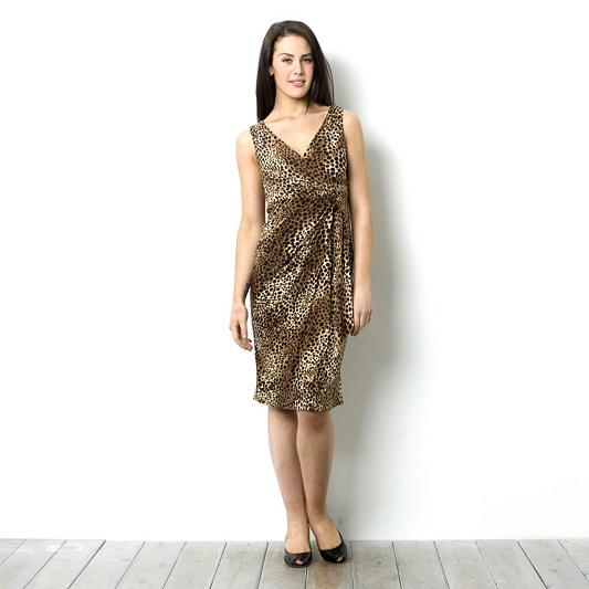 bedae2ec998b5 Fashion by Together Animal Print Jersey Dress. product thumbnail. In Stock