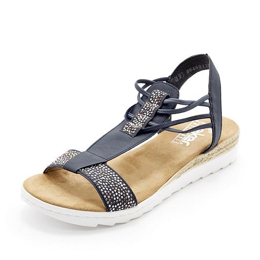 d4d098cb923f Rieker Embellished Flat Slip On Sandal. Back to video