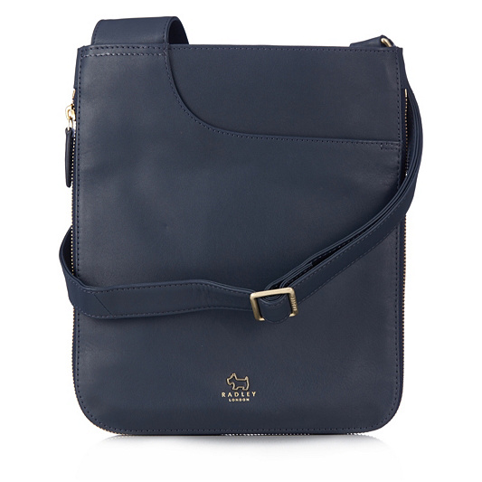 8468d9716488 Radley London Pockets Medium Leather Zip Top Crossbody Bag. Back to video