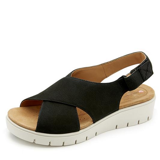 64b7c9c39baf Clarks Un Karely Hail Sandal Standard Fit. product thumbnail. Please select  a colour