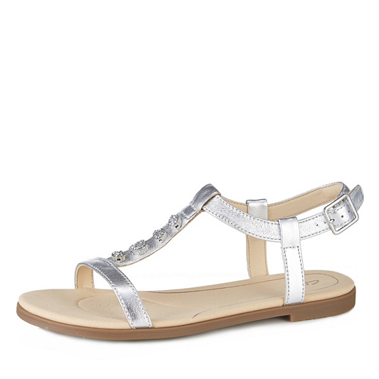 fb1e5575d9d3 Clarks Bay Blossom Strappy Sandal Standard Fit. Back to video