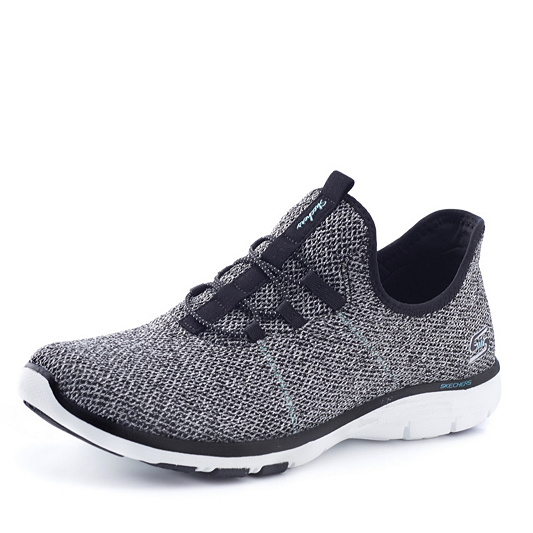 f10b57f2837 Skechers Galaxies On Air Knit Bungee Lace Shoe with Memory Foam ...