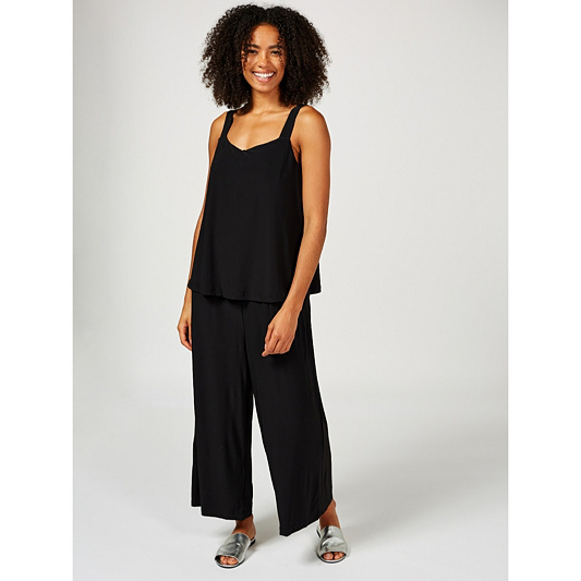 e6678a4003ef Attitudes By Renee Sleeveless Overlay Jumpsuit. Back to video