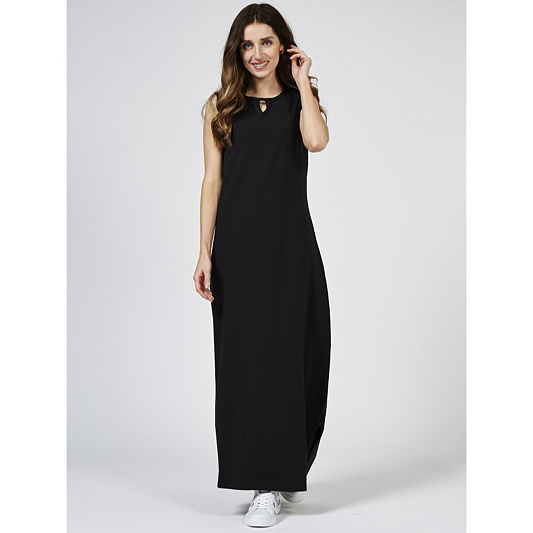 728a65b838 Denim   Co. Perfect Jersey Sleeveless Maxi Dress with Keyhole. product  thumbnail. Please select a colour