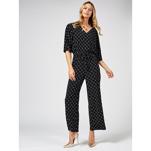 4ea8d4fd88a4 Outlet Dolman Sleeve Jumpsuit with Tie Belt Petite by Nina Leonard ...