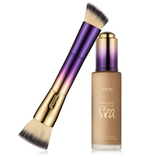 Tarte Rainforest of the Sea Water Foundation & Brush