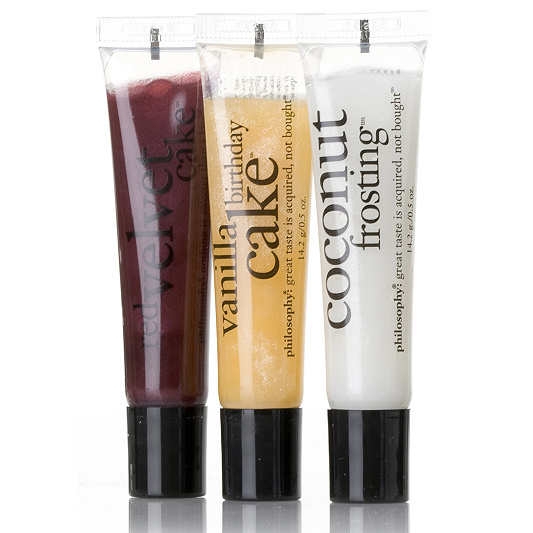 Philosophy Fresh From The Oven Lip Shine Trio Product Thumbnail In Stock